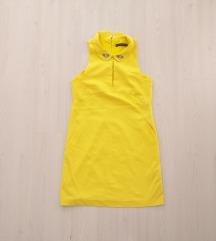 Zara Žuta Svečana Haljina M