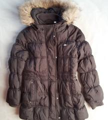 Topla duža zimska jakna 110 – odlično stanje