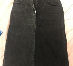 Zara denim suknja