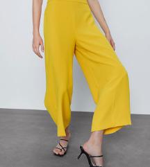 zara žute hlače 36