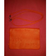 Koraljna pismo torba ZARA