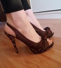 Tigraste štikle/sandale