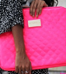 Bershka laptop torb roza