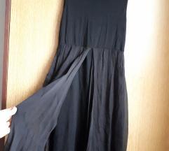 Crna kratka haljina til