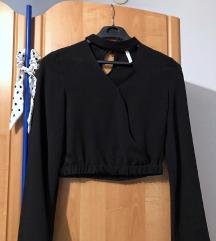 % ZARA crna bluza %