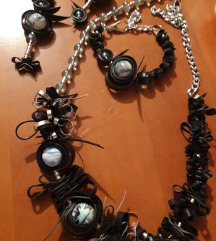 Ogrlica, narukvica i  naušnice UNIKAT⚓popust