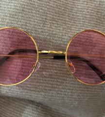 Roze round naočale