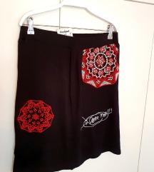 DESIGUAL suknja Blackville, NOVA sa etiketom