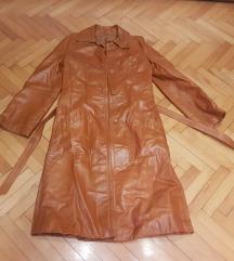 prodajem dugi kožni jaknu vel s