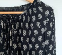 Zara crno-bijela haljina