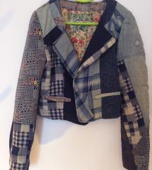 Desigual patchwork jaknica/sako - NOVO REZZ