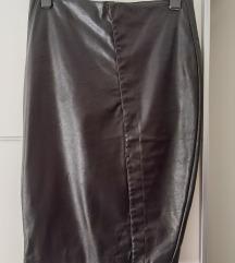 Kožna suknja Amisu 42