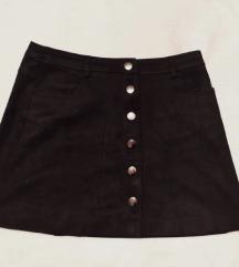 ZARA mini suknja s gumbićima
