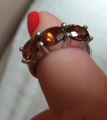 prsten pravo  srebro 925 18mm