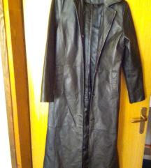 250!TCM prava koža podstavljeni kaput 38