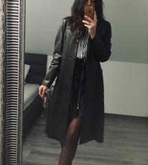 Smeđi kaput (prava koža)