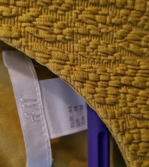 44 prekrasna žuta haljina HM za 90,00 kn!