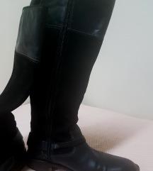 MEXX prava koža/gamoš čizme