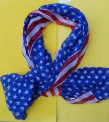 USA marama, stars and stripes