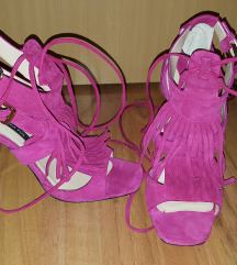 Patrizia Pepe roze sandale vel. 40