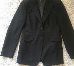 Crni sako blazer vel M-L