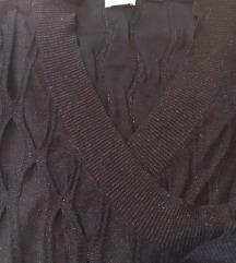 Tanka pletena haljina na preklop