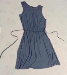 Esmara nova, sivo-plava haljina