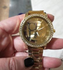 Novi zlatni sat sa cirkonima