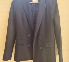 Crni oversize sako