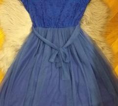 Plava haljina UNI