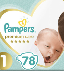 Pampers premium care br.1 pelene 3 paketa