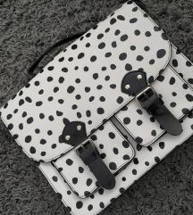 Poštarska torba s dalmatiner uzorkom