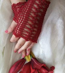 Čipkaste romantične damske rukavice REZZZ