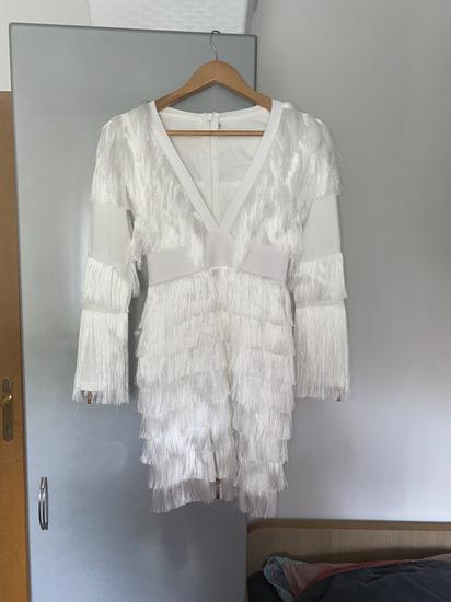 Glamurozna Bijela haljina