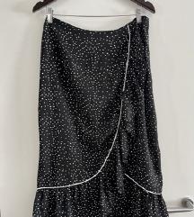 Nova Zara midi suknja na točkice