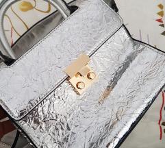 Metalik torbica