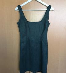 SNIŽENO! MISSGUIDED Tamnozelena mini haljina