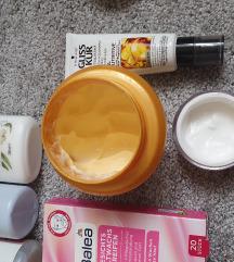 Lot kozmetike za lice i kosu