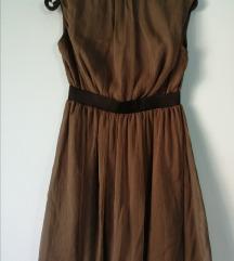 Maslinasto zelena svečana haljina