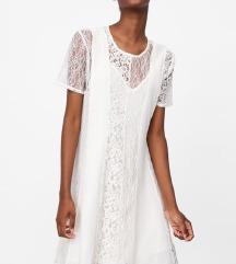 Zara lace haljina NOVO