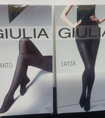 Giulia pamučne štrample s uzorkom, lot 2 para
