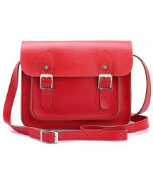 Crvena kožna torba - PRAVA KOŽA