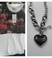 Orig.Juicy Couture ogrlica+Zara majica