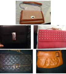 AKCIJA Lot 5 novih torbica