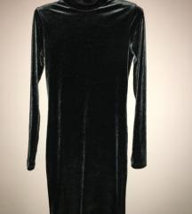 Plišana Bershka mini haljina