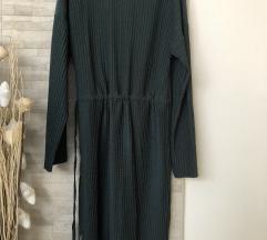 Zara zelena midi haljina