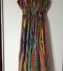 duga šarena haljina 40