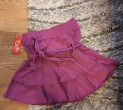 Nova ljubičasta suknja