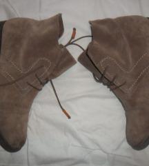 Tamaris cipele prava koža, pt uključena