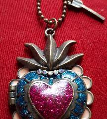 Posebna Ogrlica Srce **NOVO**